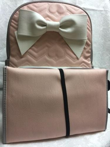 New Diaper Bag Gray W/Wallet Tote