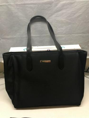 MOMMORE Diaper Bag Large Totes Changing Pad for Baby Black