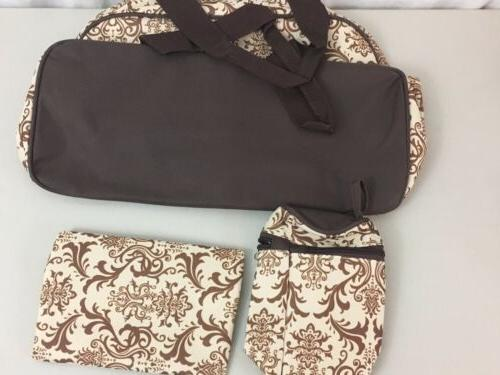 New Ellie & 3-piece Diaper Set Brown Designs