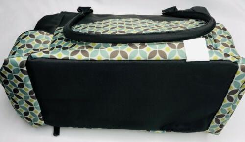 New Graco Monroe Diaper Bag Spacious Pockets Changing