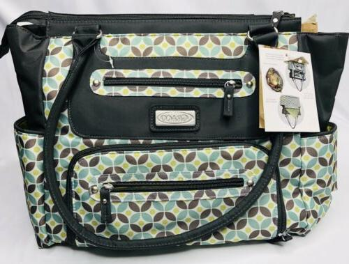 new monroe diaper bag spacious interior 8