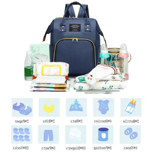 New Mummy Maternity Nappy Diaper Baby Handbag