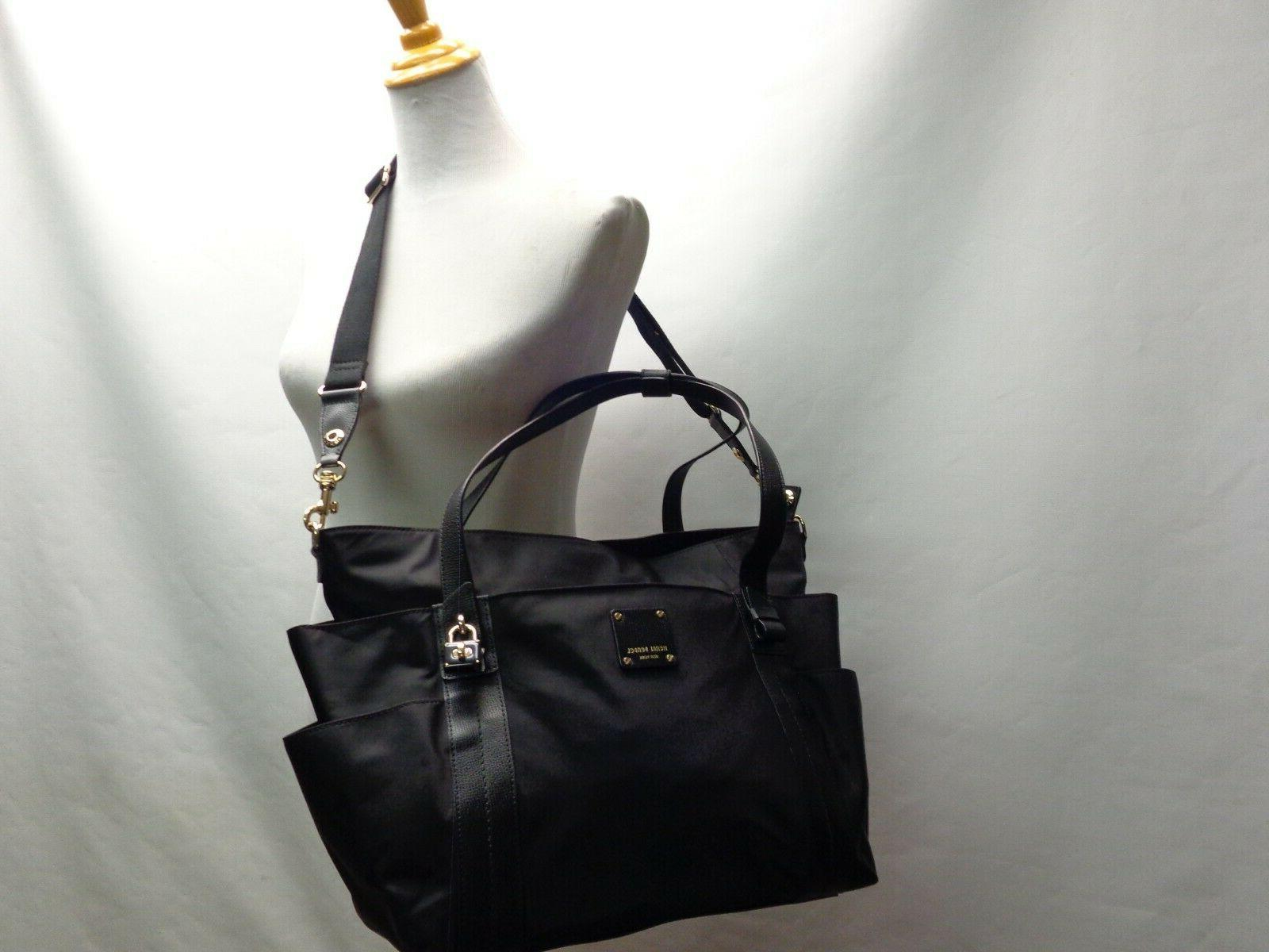 nwot xl tote diaper shoulder bag black