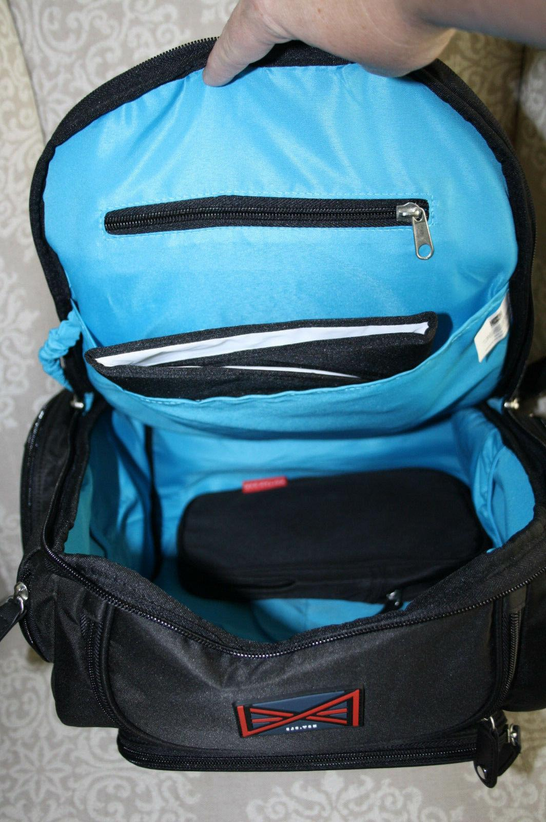 NWT Nation Diaper Bag Backpack w/Changing Pad Pouch
