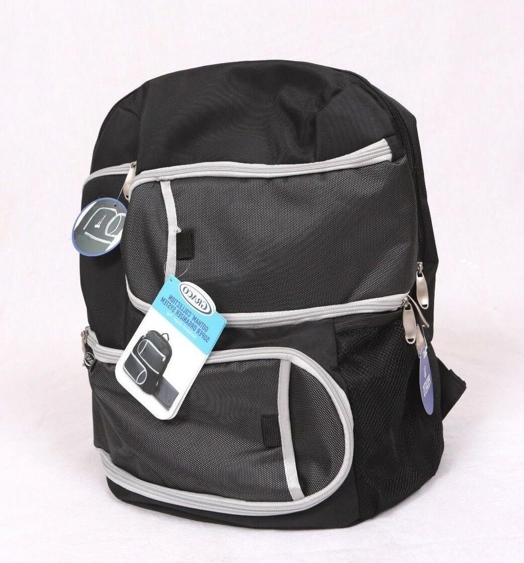 nwt gotham collection super organizer system backpack