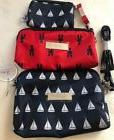NWT JU JU BE ANNAPOLIS Be Set 3 Bags Baby NAVY BLUE & RED NA