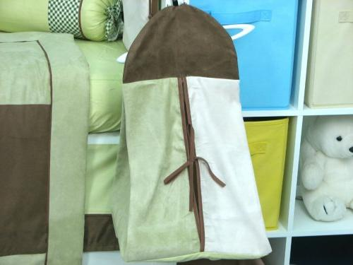 Soho Brown Suede Nursery Bedding included Bag with Changing &