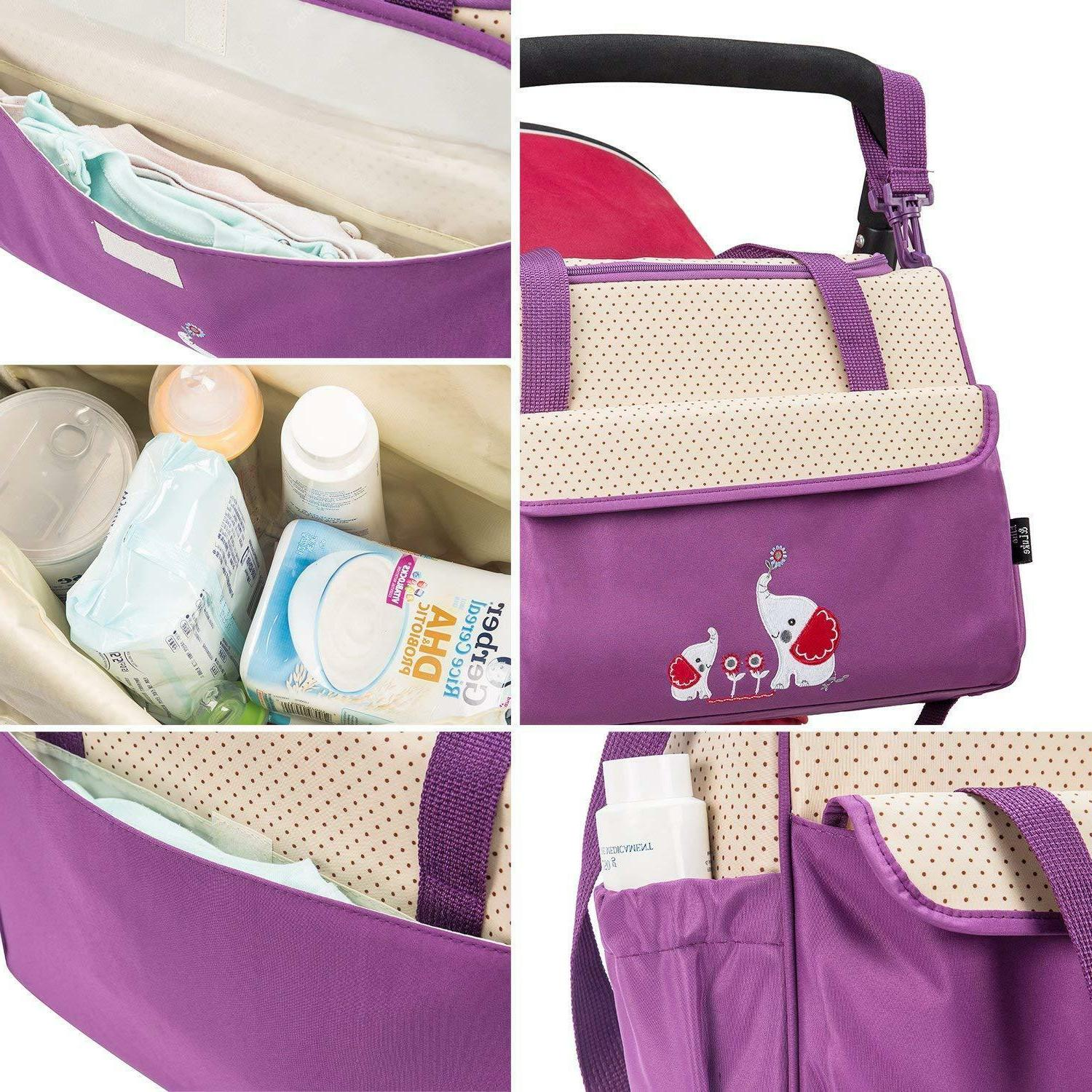 SOHO Collections Diaper Bag