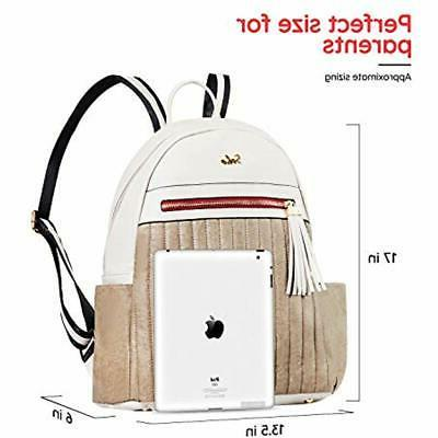 SoHo Collections Montgomery Leather Backpack