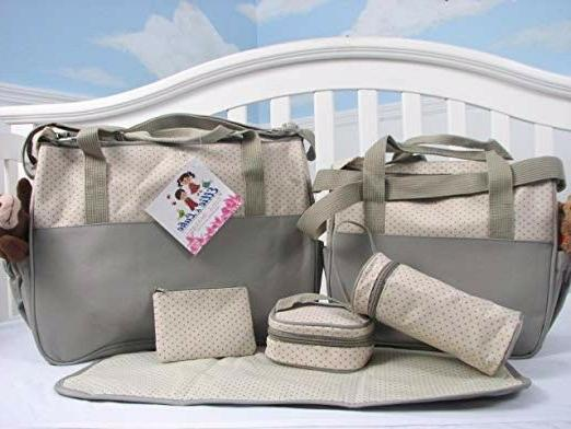 SoHo Baby Bag W/ Changing Pad 6 Pieces Family bundle