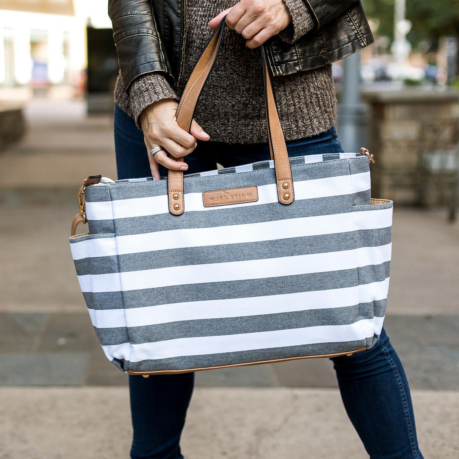The Tote Bag by White Bag | Laptop