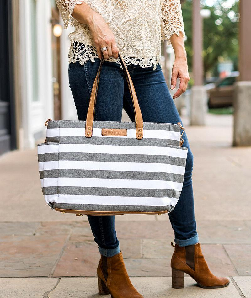 The Tote by Gray Stripe |