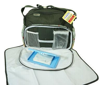 Graco The Deluxe Diaper Bag Easy-To-Clean