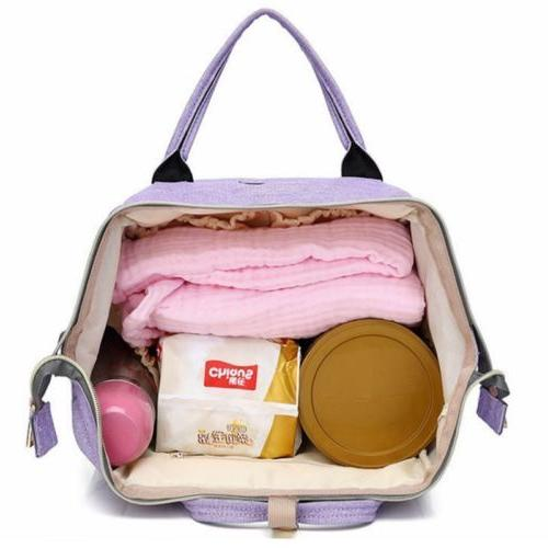 US Capacity Mummy Bag Nappy Bag Baby