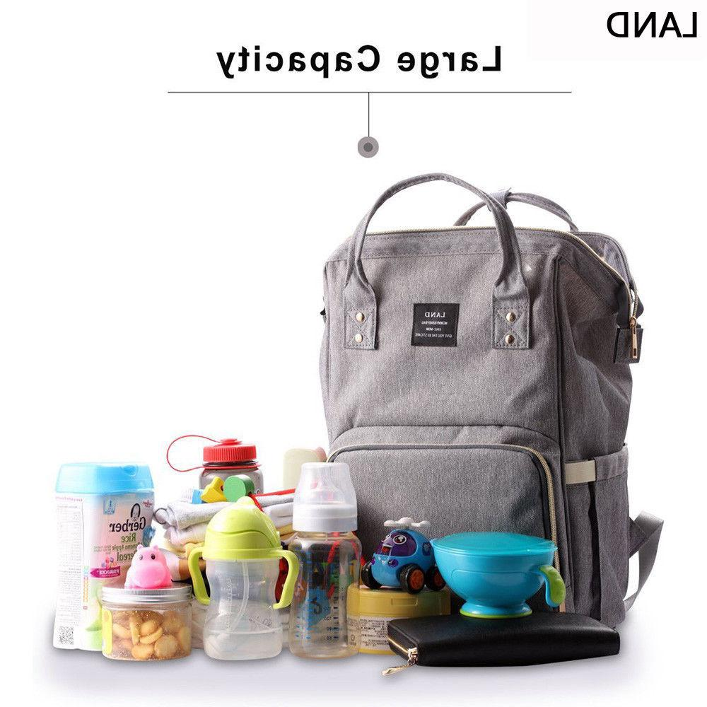 LAND Backpack Bags Nappy