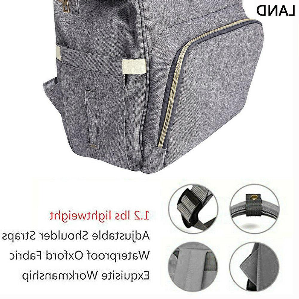 LAND Mummy Backpack Bags Large Nappy