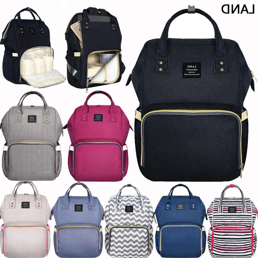 us mummy backpack diaper bags large multifunctional