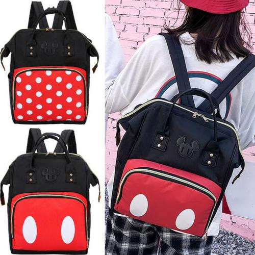 Women Mummy Diaper Bag Nappy Backpack Large Top