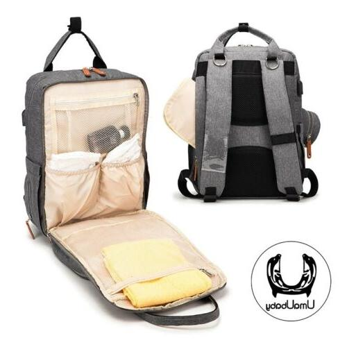 USB Baby Diaper Backpack