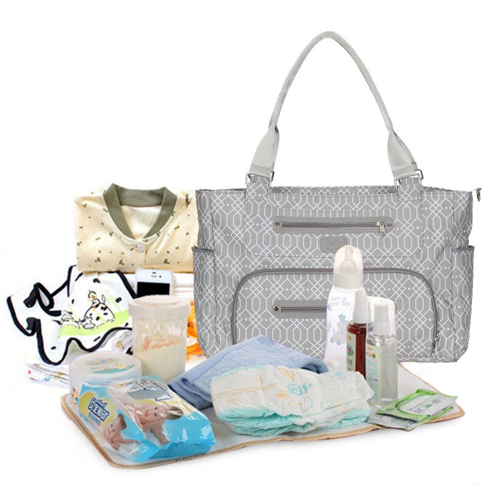 Utility Bag Tote Nappy for Baby Changing