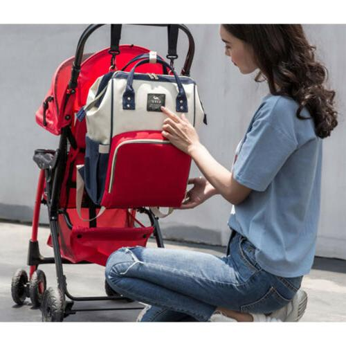 Mummy Bag Large Changing Travel Backpack Handbag
