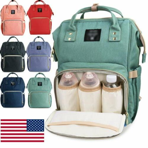 Waterproof Large Mummy Diaper Changing Backpack