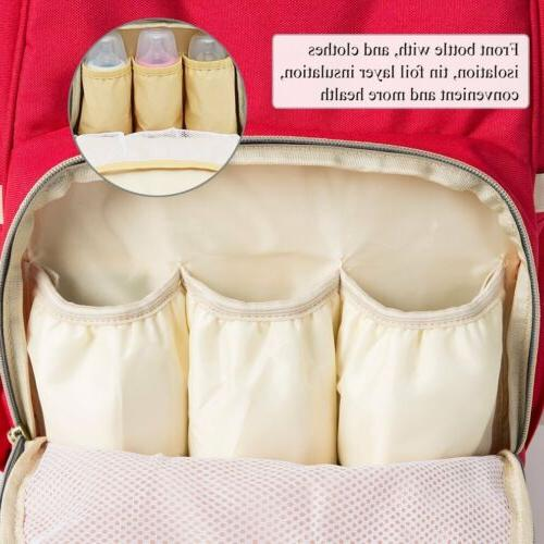 Waterproof Large Mummy Diaper Baby Changing Backpack