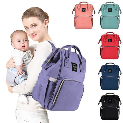 Waterproof Large Mummy Nappy Diaper Bag Baby Travel Changing