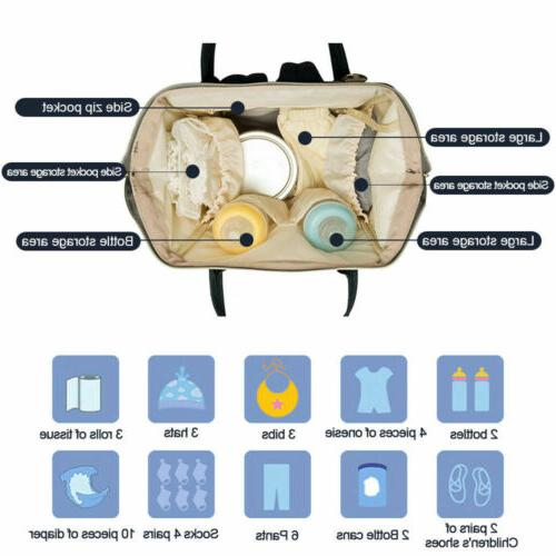 Waterproof Nappy Diaper Bag