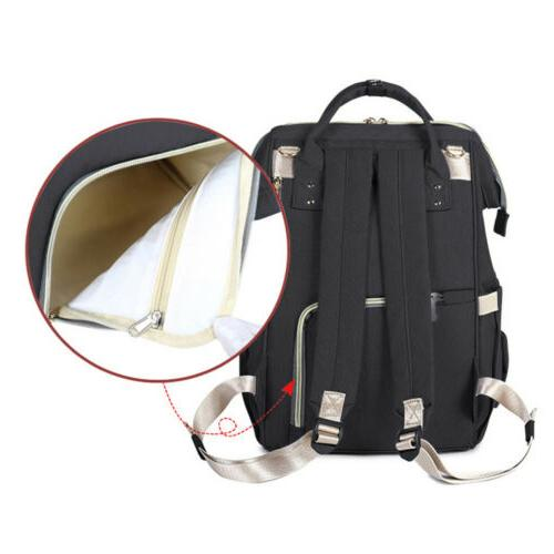 Waterproof Multifunctional Nappy Diaper Travel Backpack