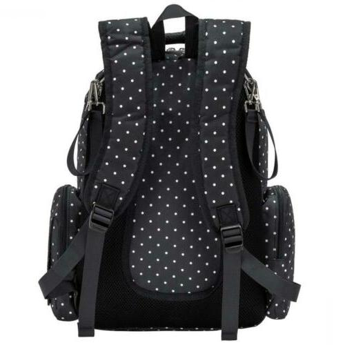 Cateep Diaper Backpack with and Stroller