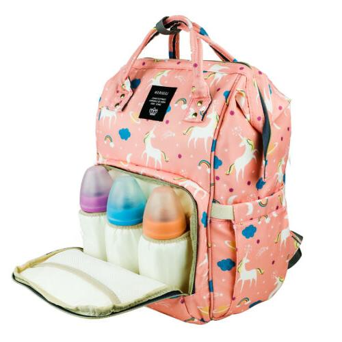 Diaper Backpack Capacity Baby Bookbag for