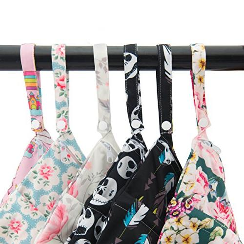 ALVABABY Wet/Dry Bags|Waterproof Reusable with Two Pool, Items,Yoga,Gym or Clothes