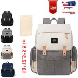 LAND Diaper Mummy Bags Baby Nappy Diaper Large Multifunction