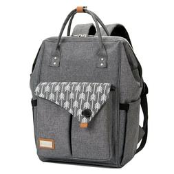 large diaper bag backpack for mom in