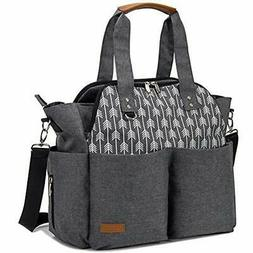 Large Diaper Bag Tote Satchel Messenger For Mom And Girls In