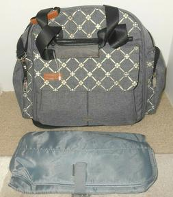 Large LEKEBABY Expandable Diaper Bag Backpack Baby Tote NEW