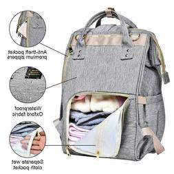 Large Nappy Bag Waterproof Maternity Travel Backpack Mummy D