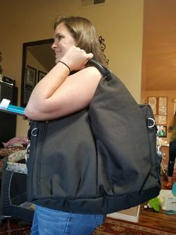 Lassig Diaper bag large canvas type. This is a new bag. Many