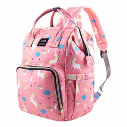 Diaper Bag Backpack Capacity Unicorn Baby Travel Backpack Fr