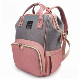 lequeen mummy maternity nappy diaper bag large