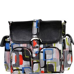 Matte Coated Double Duty Diaper Backpack