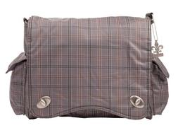 Kalencom Messenger Plaid Diaper Bag