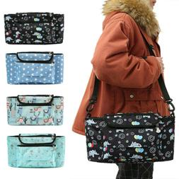 Microfiber Baby Diaper Bag Stroller Tote Roomy with Removabl