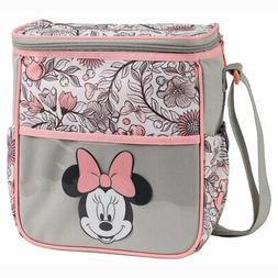 Disney Minnie Mouse Baby Small Bottle Diaper Bag Gray Pink F