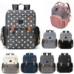 LAND LEQUEEN Mummy Baby Diaper Bag Maternity Nappy Backpack