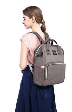 Multi-Function Diaper Backpack By HaLova Land Waterproof, Gr