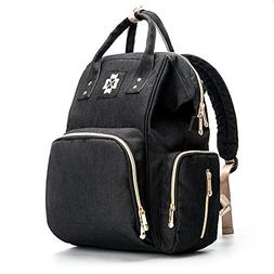 Baby Diaper Bag - Multifunctional Backpack Diaper Bag with U