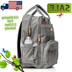 Diaper bag backpack Baby Travel waterproof large pack mummy