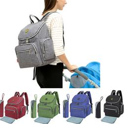 Multi-Function Waterproof Diaper Mummy Bag Travel Backpack N